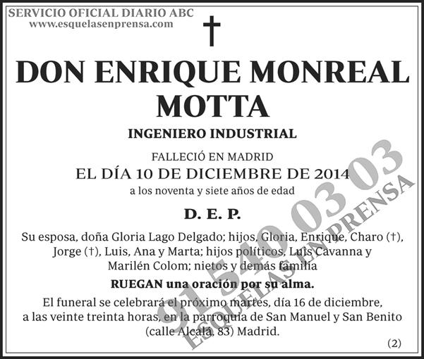 Enrique Monreal Motta